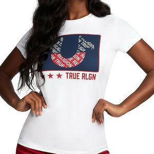 True Religion Women's Horseshoe Tee T-Shirt